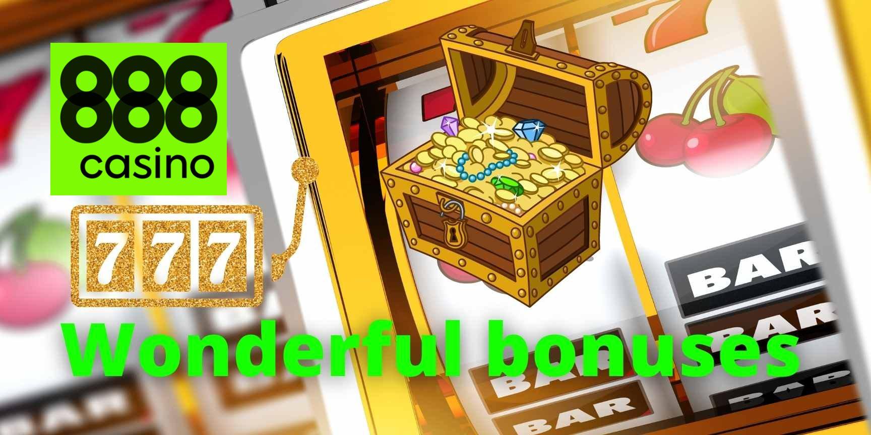 888 casino wonderful bonuses