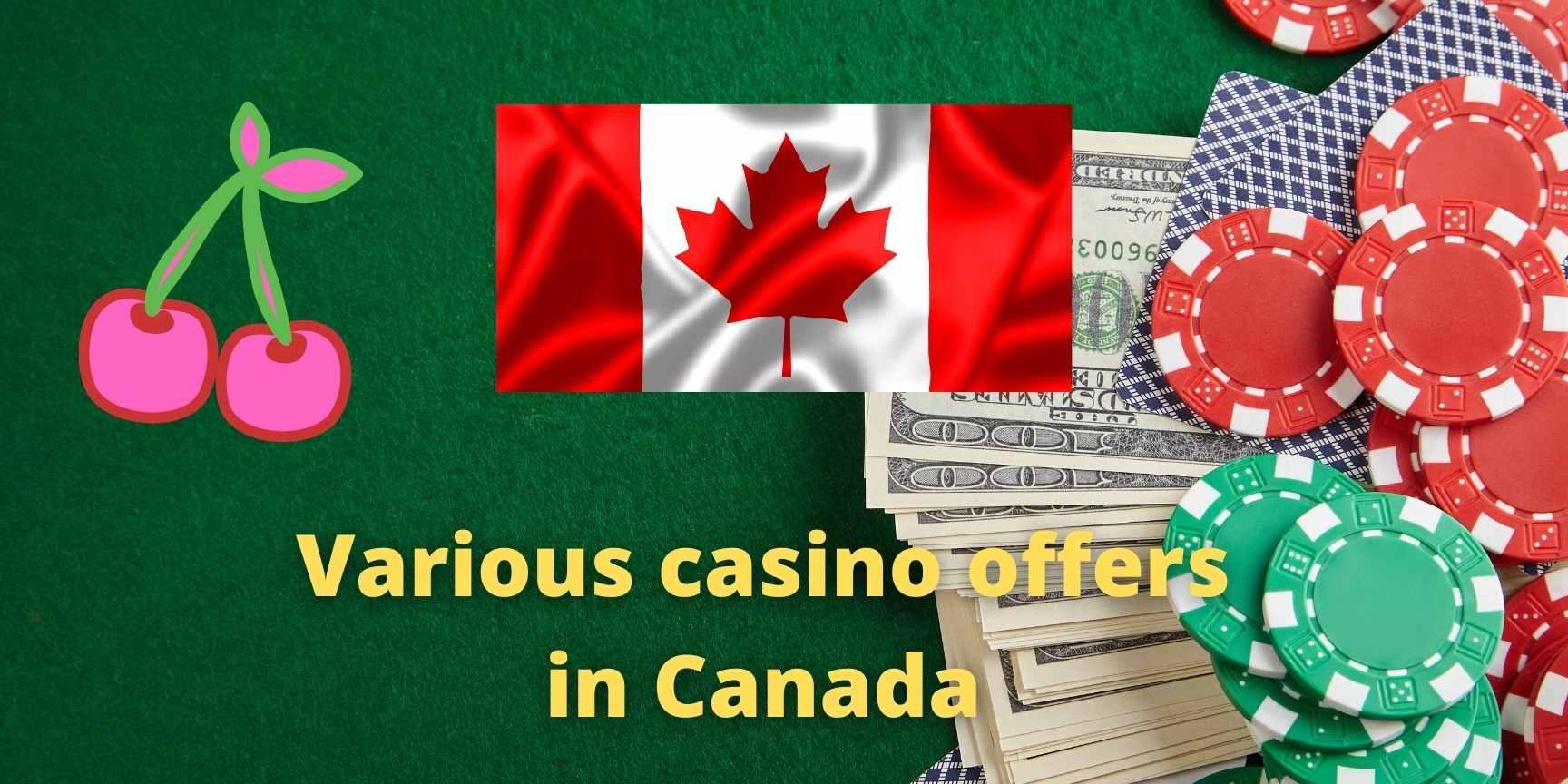 canada casino offers